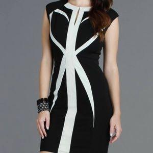 🔥 HOST PICK🔥Geometric Bodycon Statement Dress